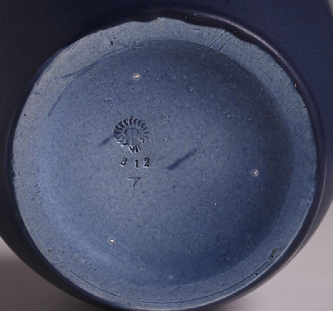 Rookwood Matte Blue Humidor 1906 - 4