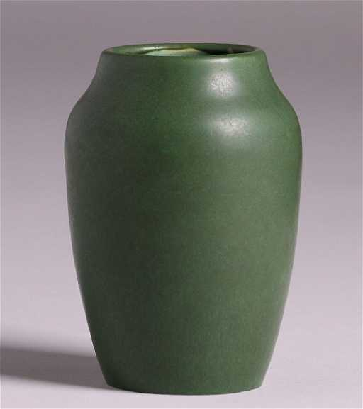 Hampshire Pottery Matte Green 6 Vase