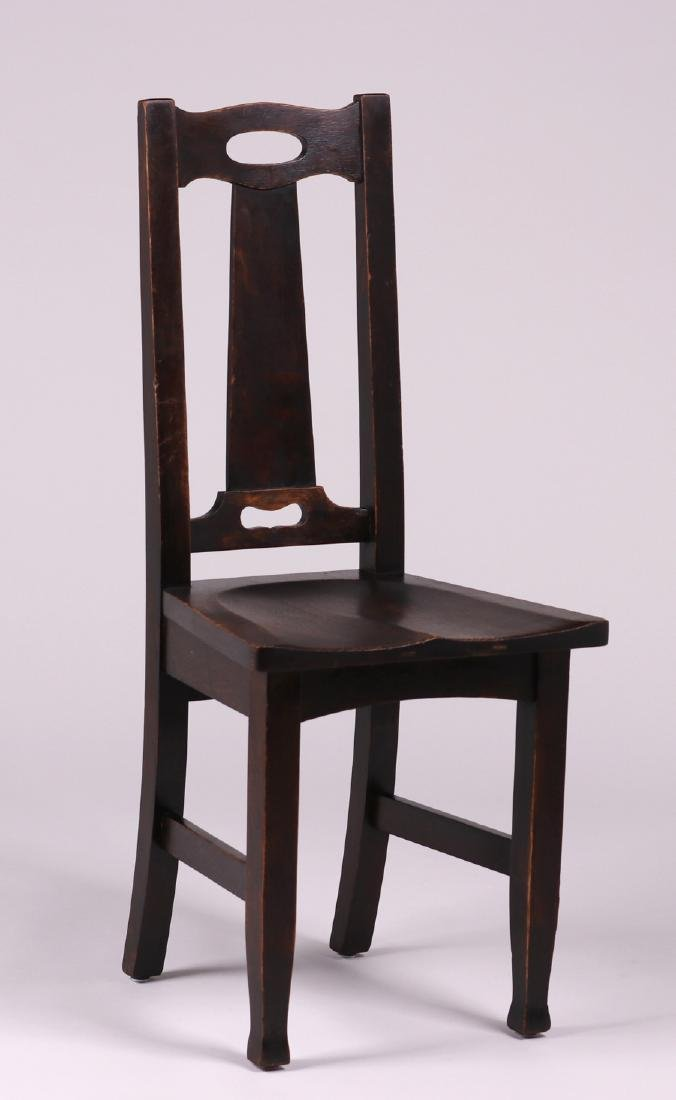 Stickley Brothers Side Chair Cutout Handle
