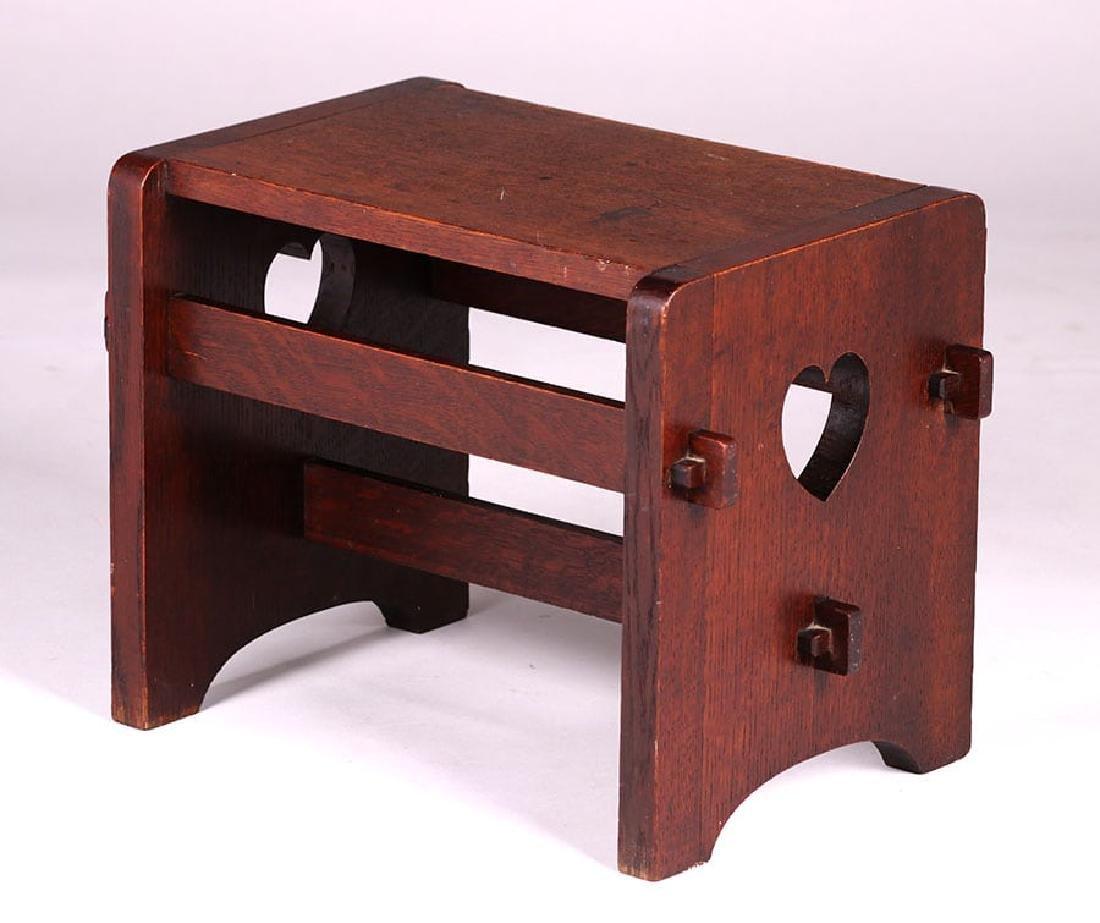 Paine Furniture Co Footstool c1910