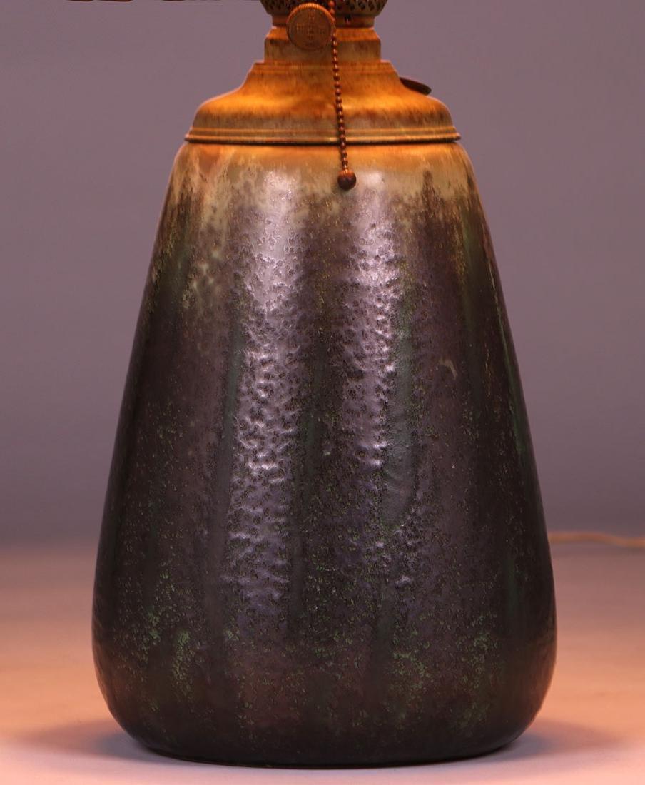 Fulper Pottery Lamp c1910 - 2