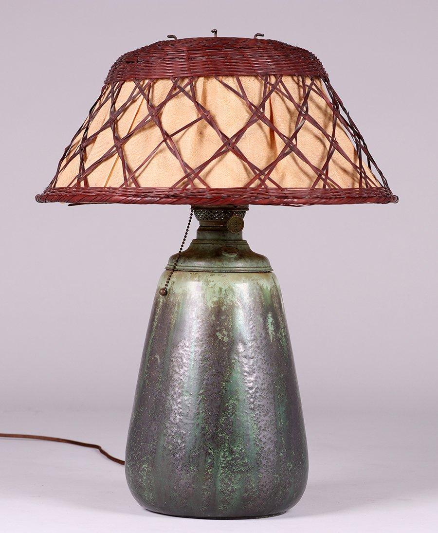 Fulper Pottery Lamp c1910 - 3