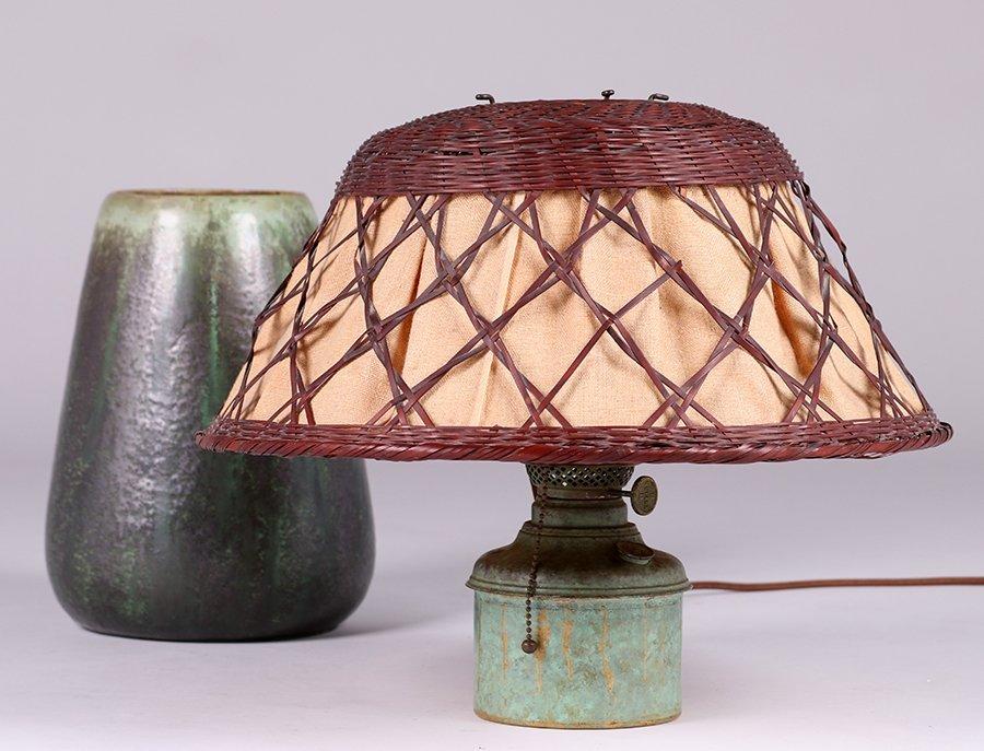 Fulper Pottery Lamp c1910 - 4