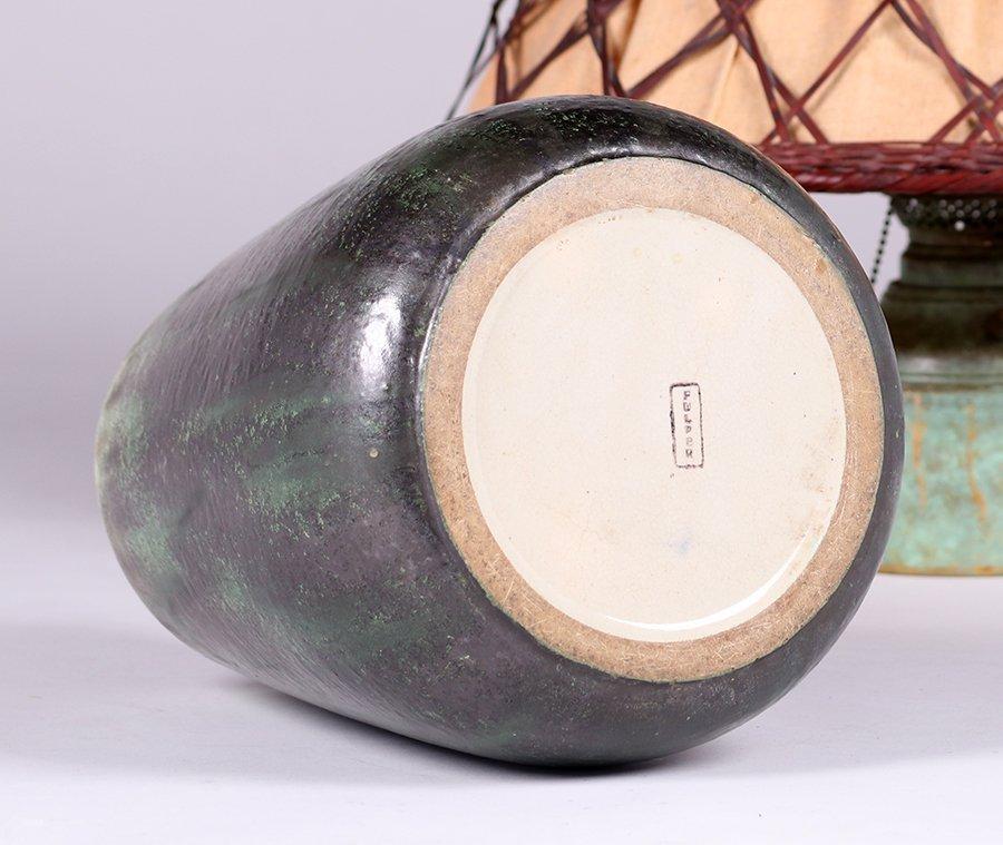 Fulper Pottery Lamp c1910 - 5