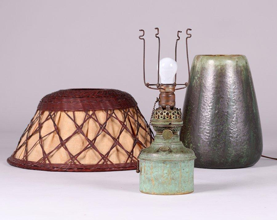 Fulper Pottery Lamp c1910 - 6