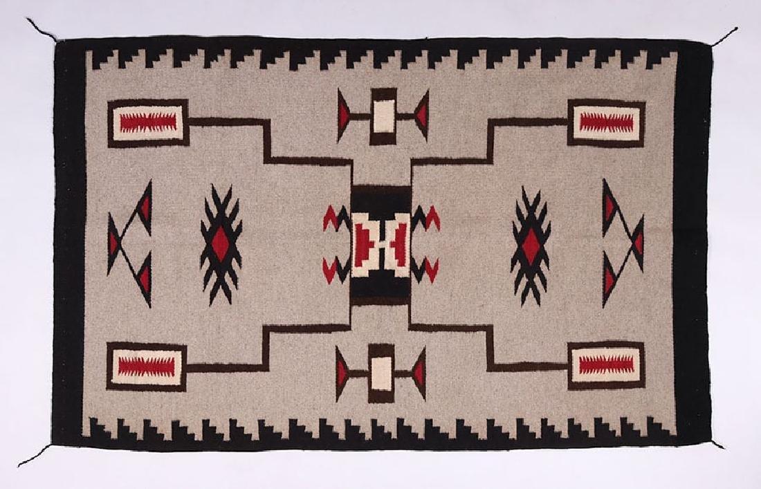 Navajo Crystal Rug  c1950s
