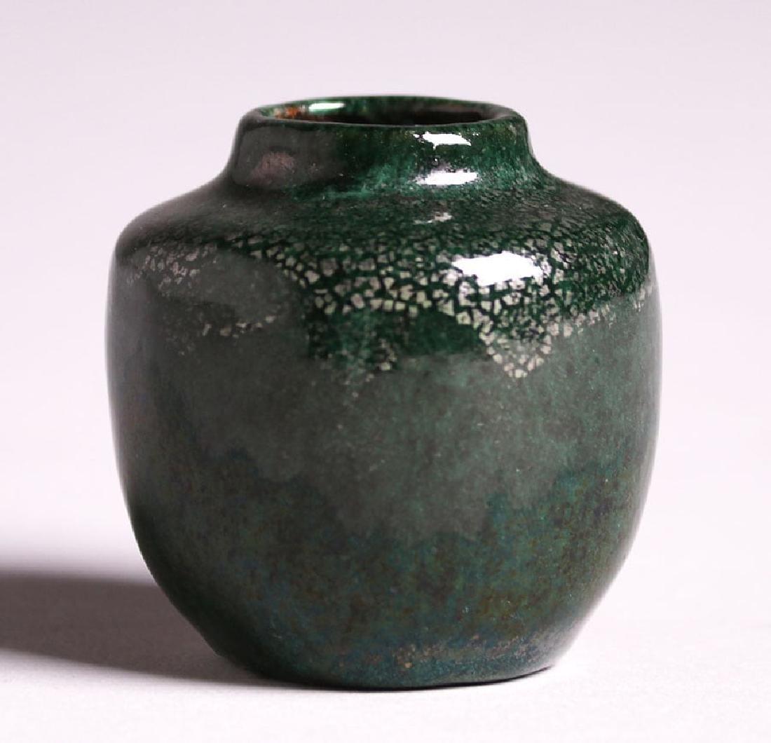 Miniature Merrimac Pottery Cabinet Vase