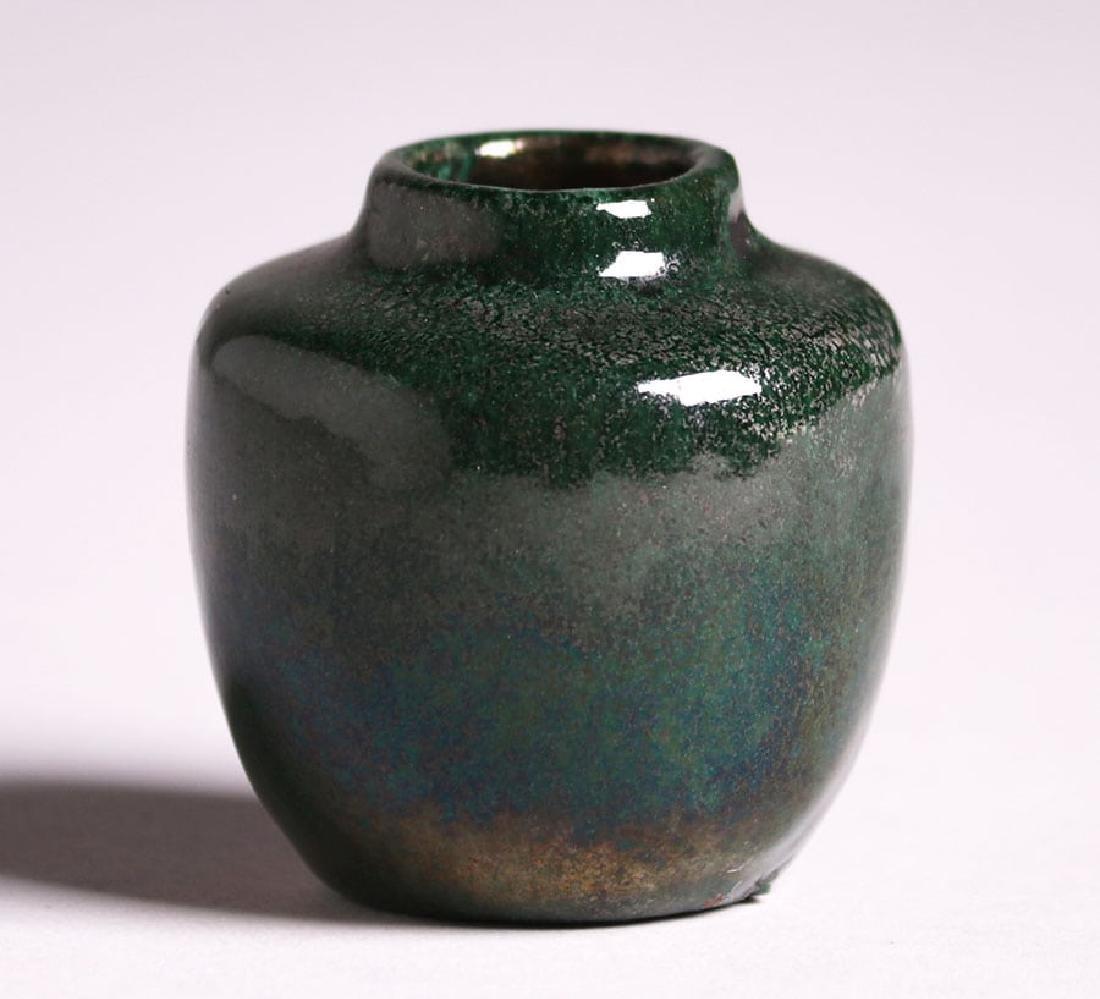 Miniature Merrimac Pottery Cabinet Vase - 2