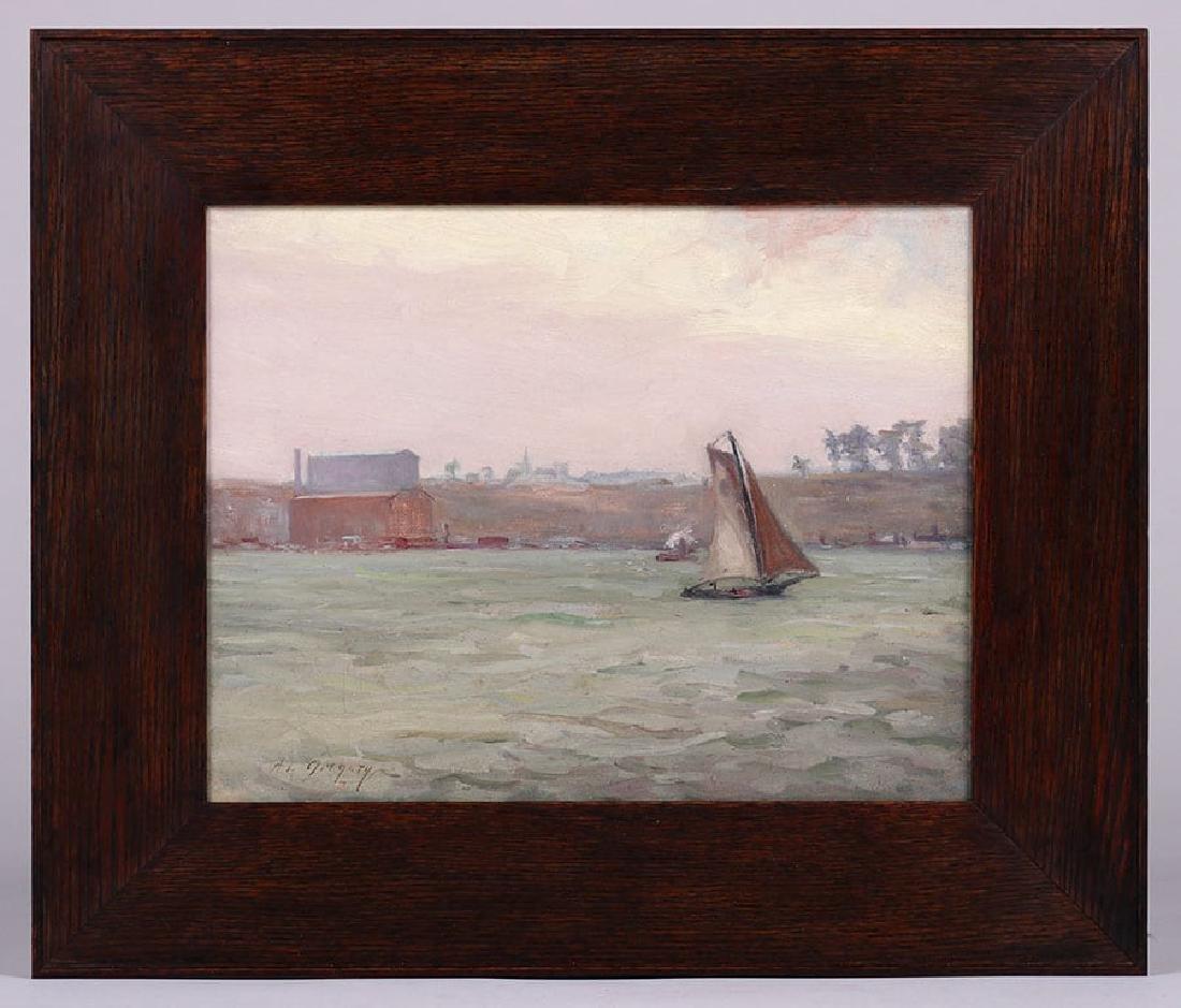 Anne Van Briggle Oil Painting c1890 - 2