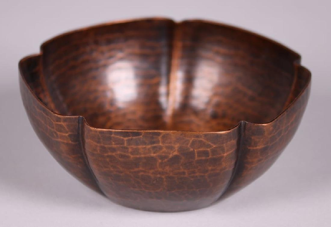 Early Unsigned Dirk van Erp Five-Sided Bowl c1909-1910 - 2
