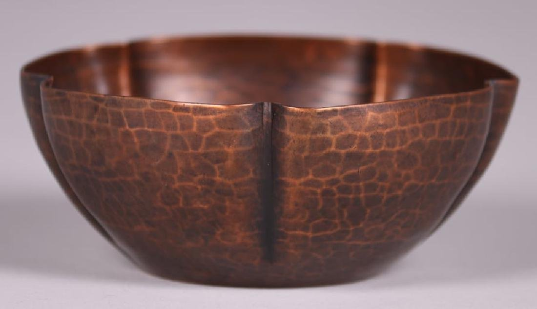 Early Unsigned Dirk van Erp Five-Sided Bowl c1909-1910 - 3