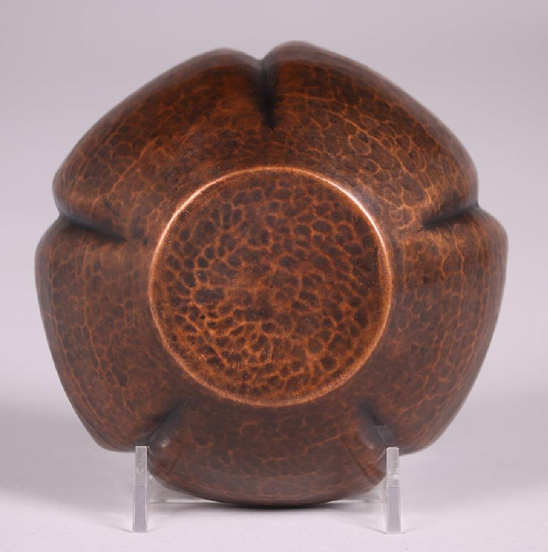 Early Unsigned Dirk van Erp Five-Sided Bowl c1909-1910 - 4
