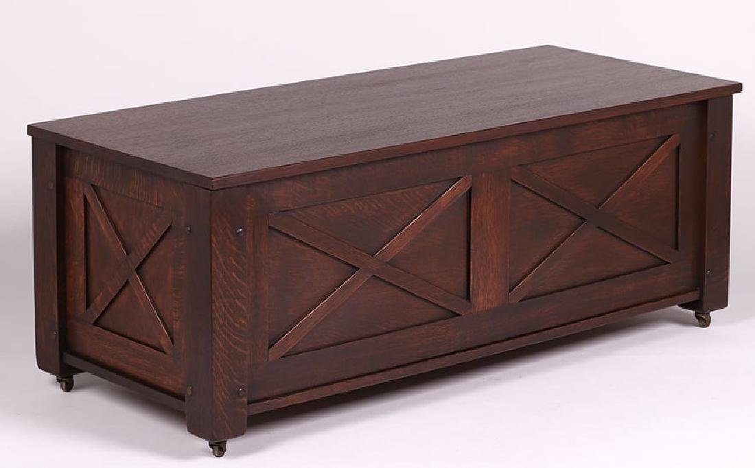 McHugh Furniture Co Blanket Chest c1905-1910