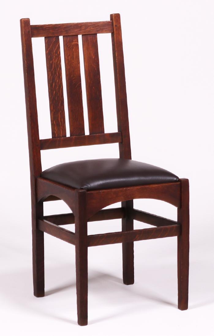 Set of 4 Gustav Stickley - Harvey Ellis Dining Chairs - 2