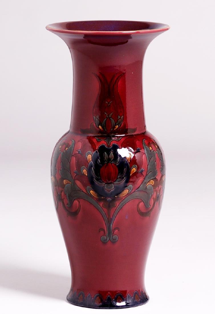 "Large Rookwood 18""h Black Opal Vase 1925 Sara Sax"