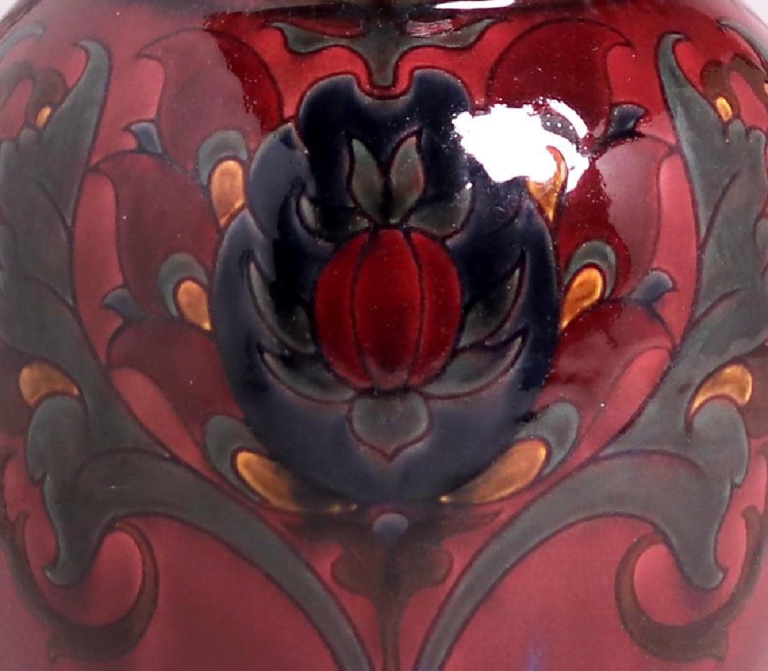 "Large Rookwood 18""h Black Opal Vase 1925 Sara Sax - 3"