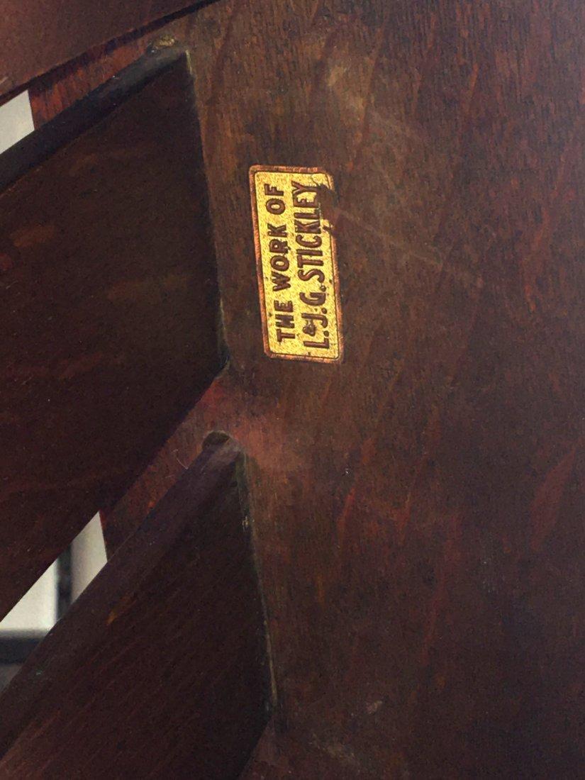 L&JG Stickley #471 Slatted Morris Chair - 4