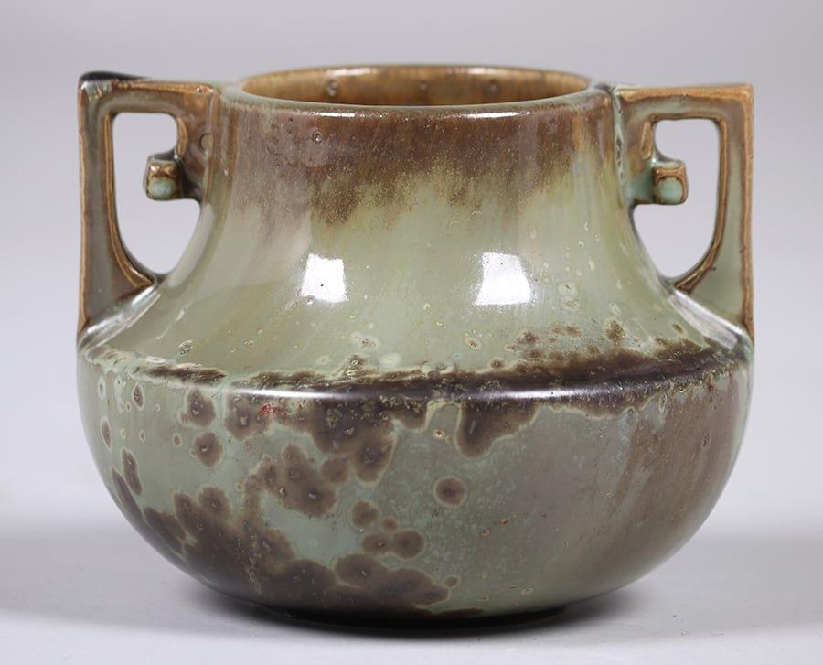 Fulper Pottery Two-Handled Vase - 2