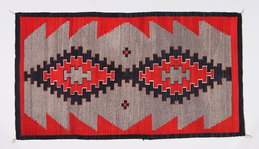 Navajo Crystal Rug c1925