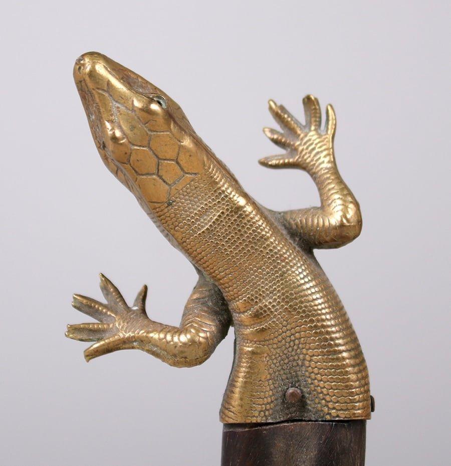 Arts & Crafts Era Salamander Letter Opener c1910-1920 - 3