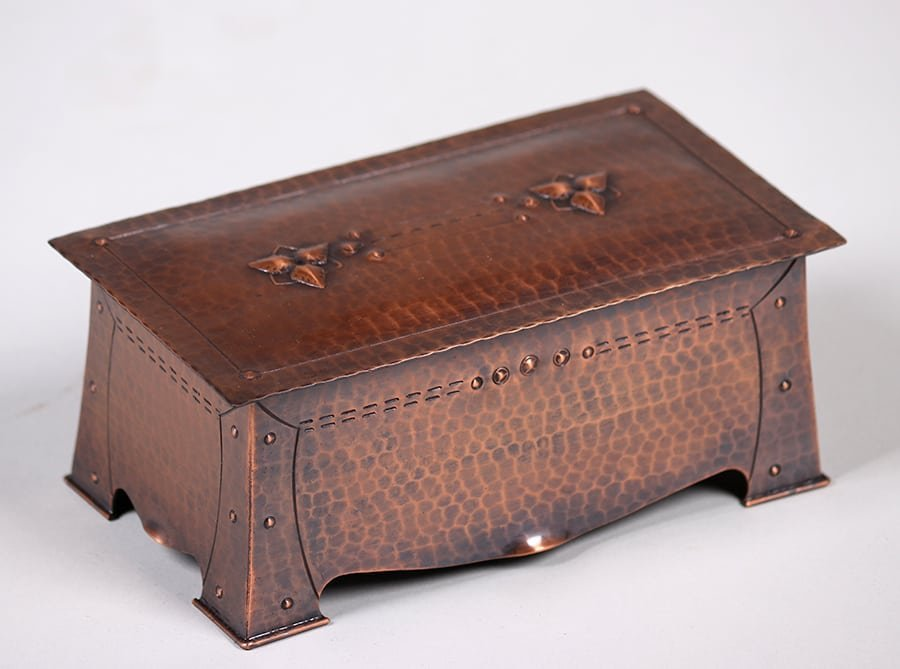 Old Mission Kopper Kraft Box c1922-1925