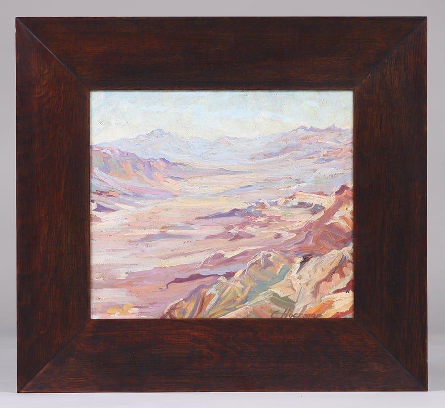Carl Hoerman Arizona Southwest Painting - 2