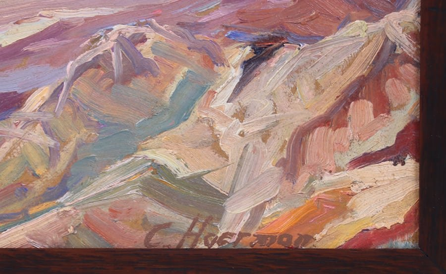 Carl Hoerman Arizona Southwest Painting - 3