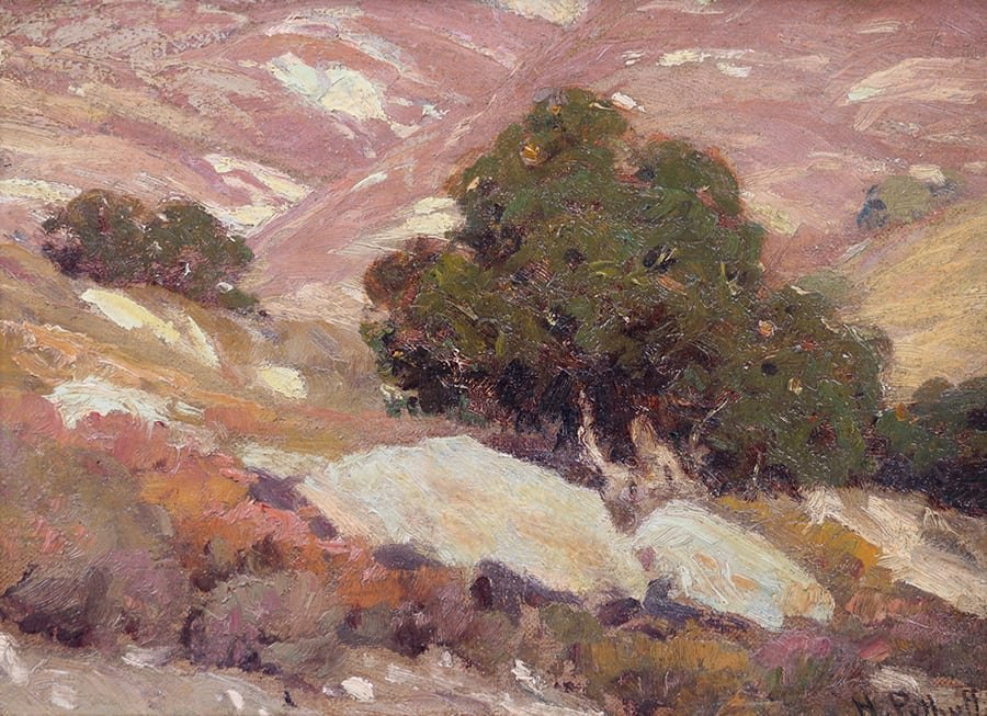 Hanson Puthuff California Oak Tree Painting