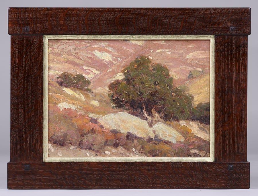 Hanson Puthuff California Oak Tree Painting - 2