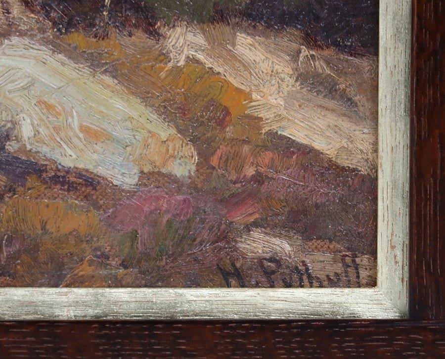 Hanson Puthuff California Oak Tree Painting - 3