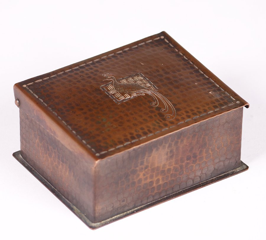 Craftsman Studios Hammered Copper Box