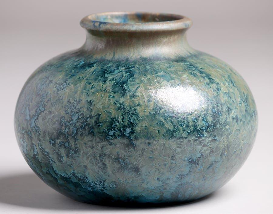 Pierrefonds Crystalline Vase - 2
