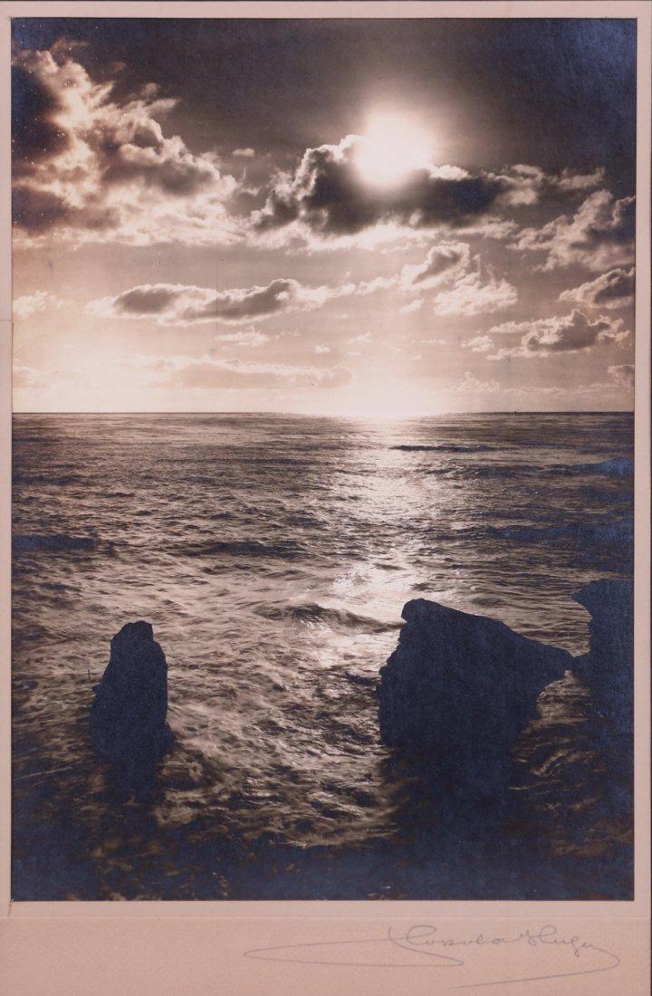 Leopold Hugo California Ocean Sunset Photo