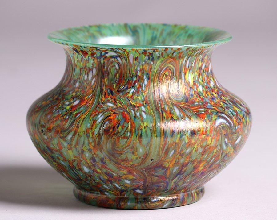 Loetz Art Glass Vase c1900
