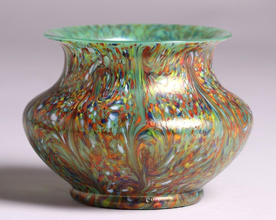Loetz Art Glass Vase c1900 - 3