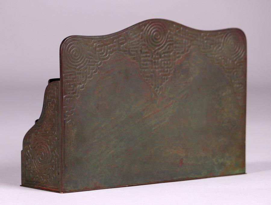 Tiffany Studios Bronze Zodiac Letter Rack - 3