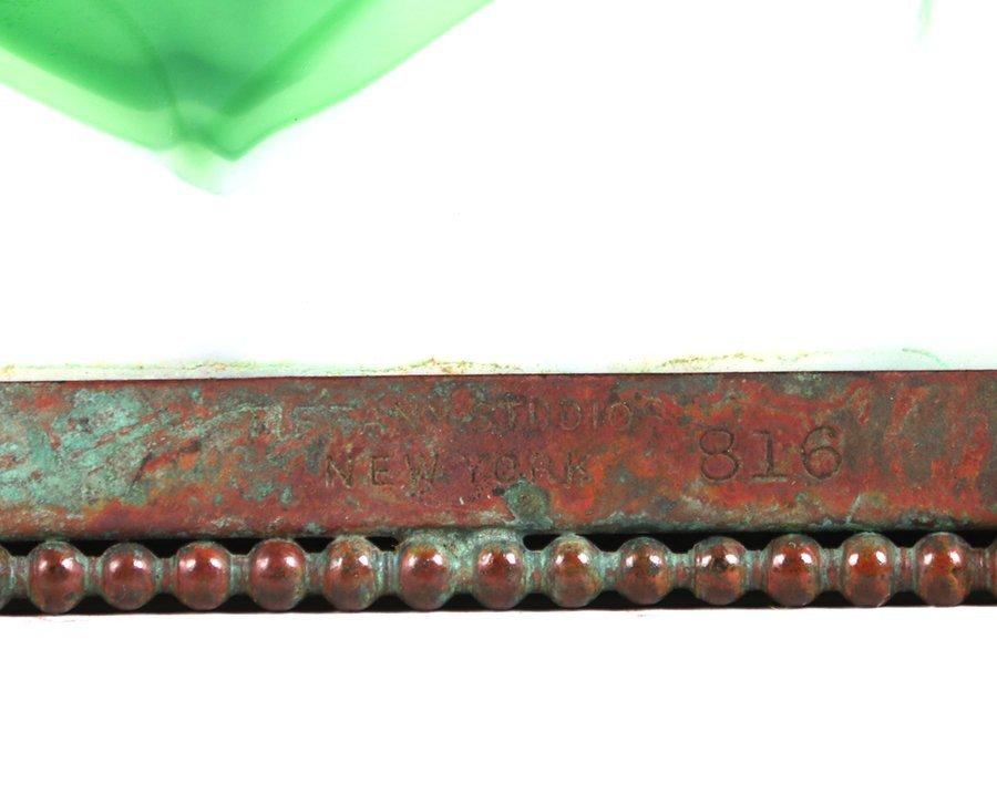 Tiffany Studios Bronze Overlay Pine Needle Box c1910 - 6
