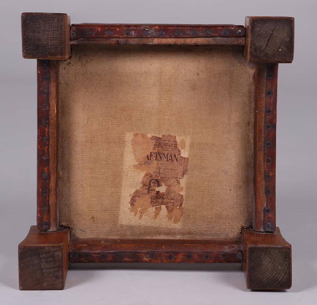 Gustav Stickley Monk Footstool c1905-1910 - 3
