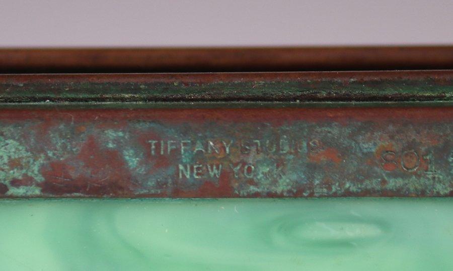 Tiffany Studios Bronze Overlay Small Box - 5