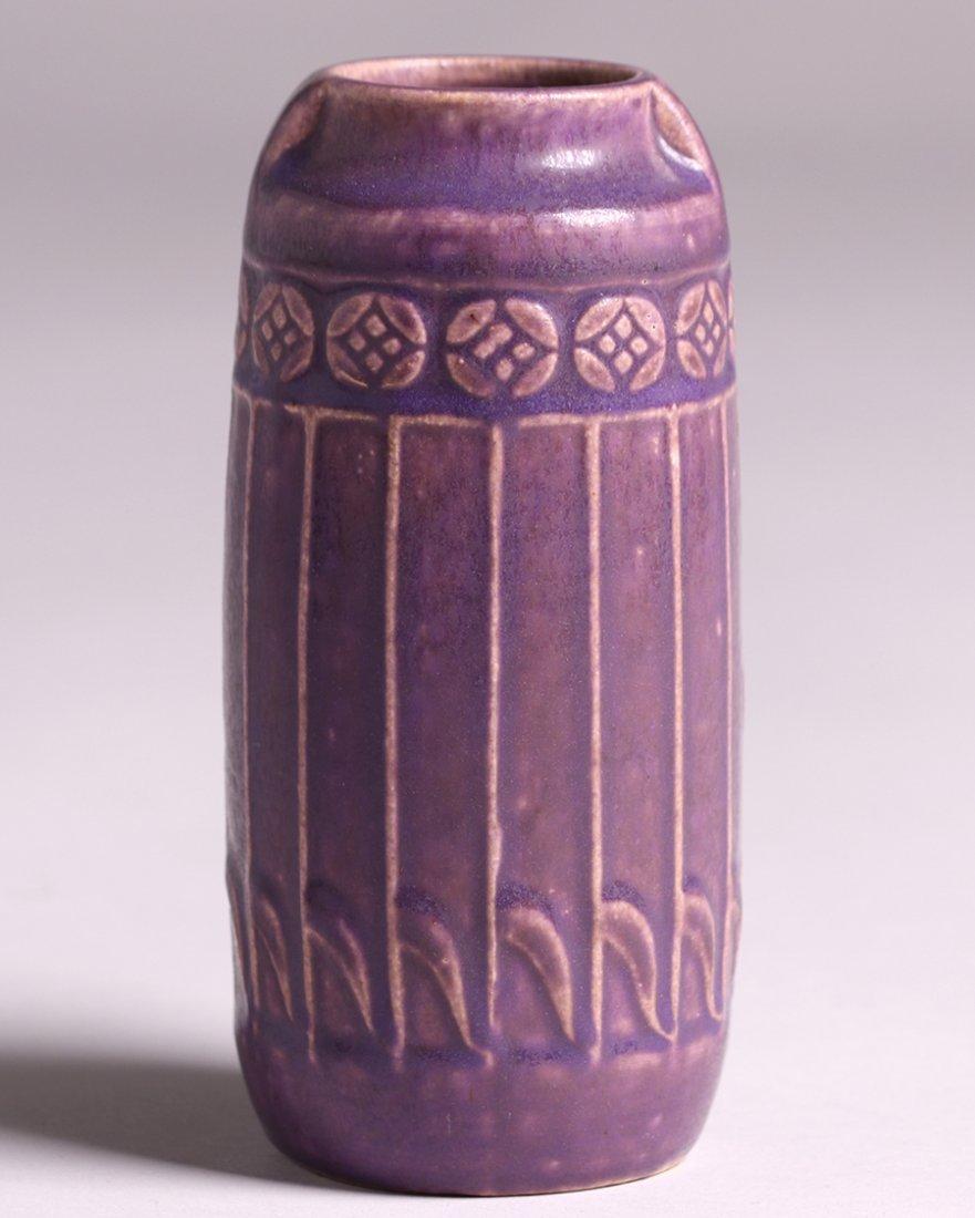 Rookwood Matte Purple Vase 1914