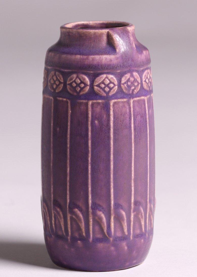 Rookwood Matte Purple Vase 1914 - 2