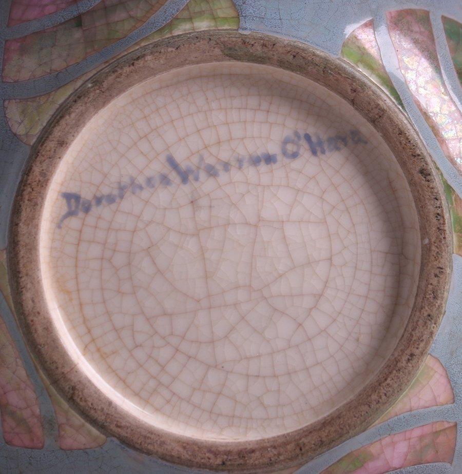 Dorothea Warren O'Hara Decorated Vase c1915 - 4