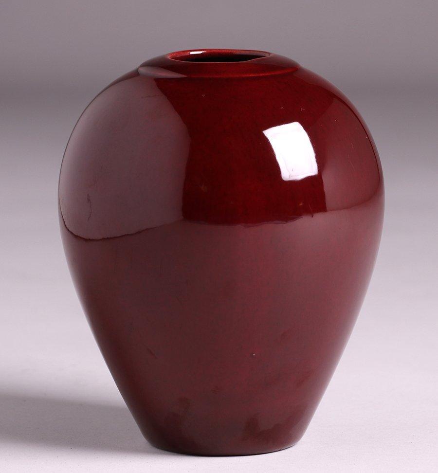 Oxblood Porcelain Vase c1930s