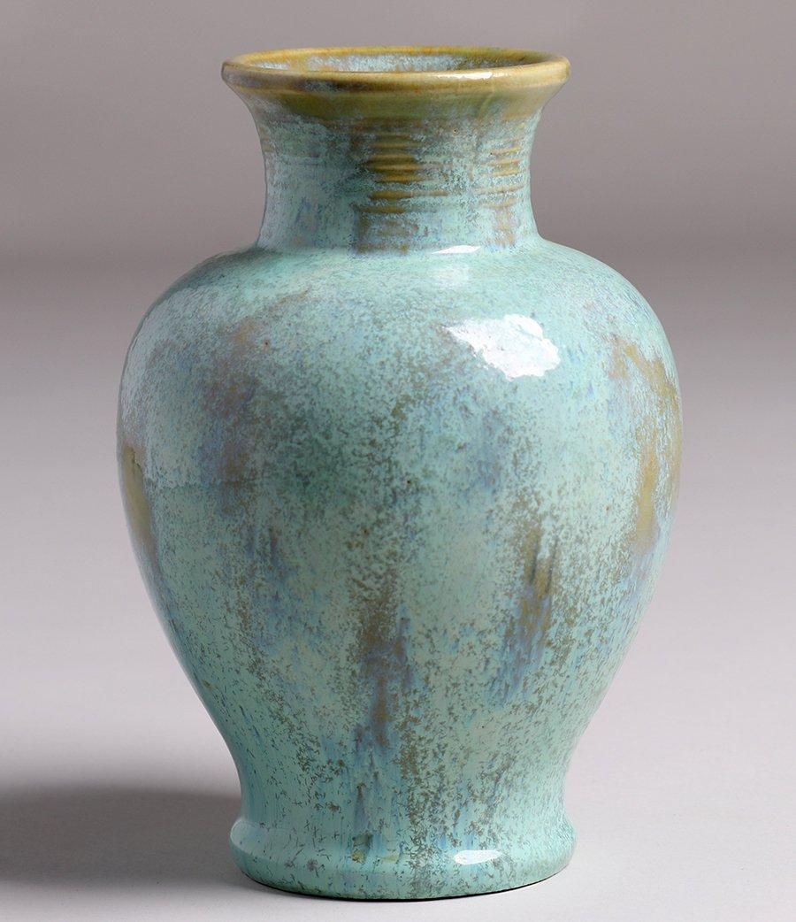 Fulper Pottery Light Green Vase