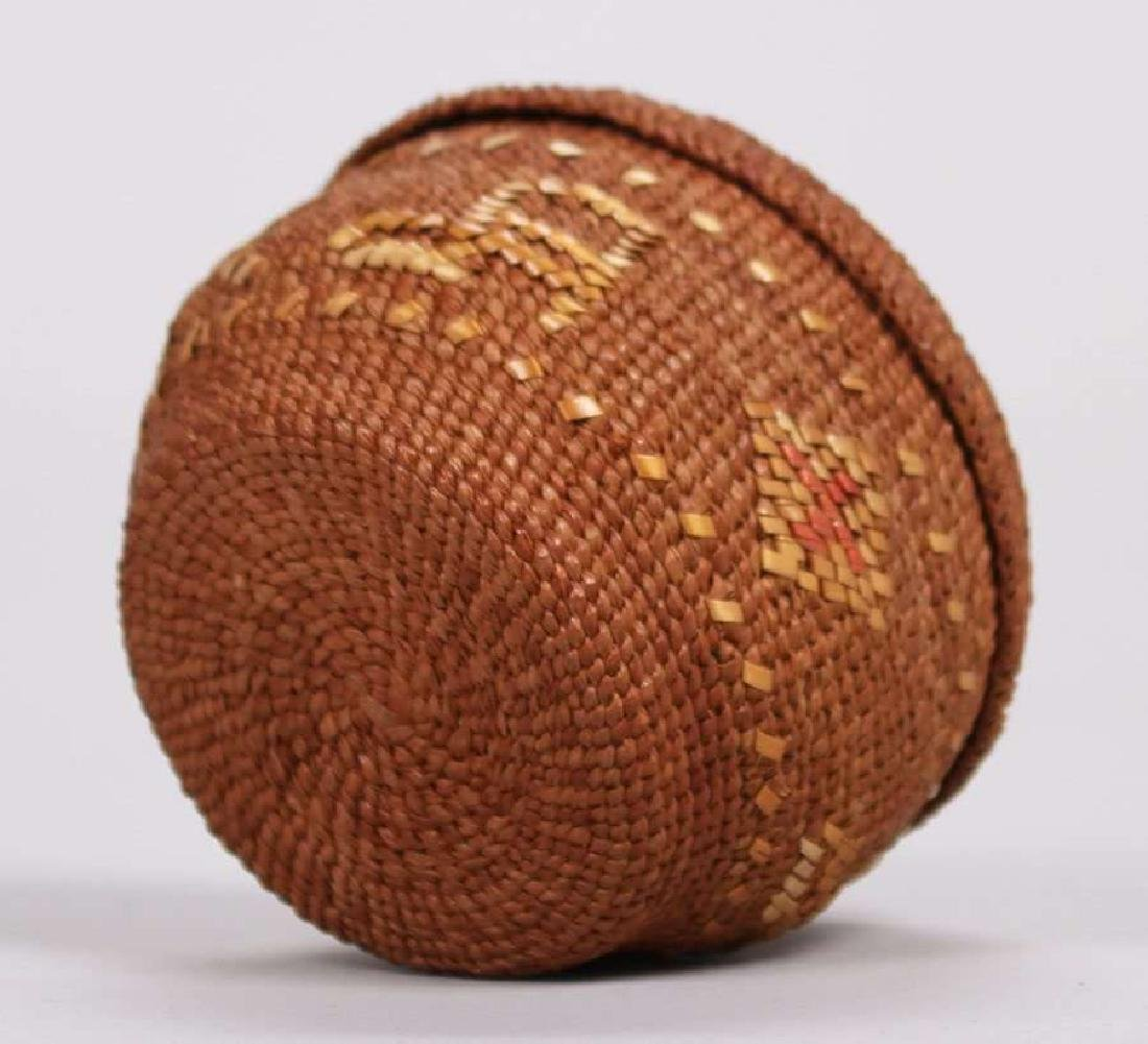 "Native American ""Alaska"" Basket c1900-1920 - 6"