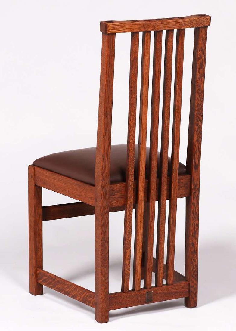 Set of 4 Limbert Spindled Chairs Yellowstone Lodge - 2