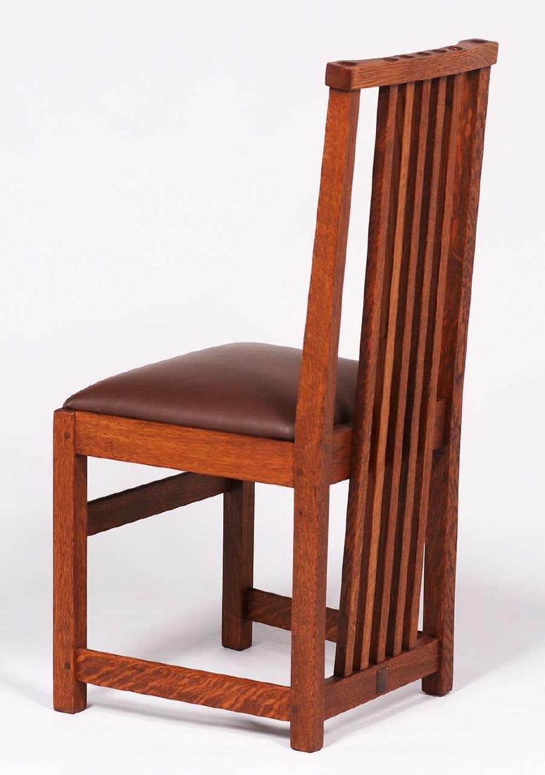 Set of 4 Limbert Spindled Chairs Yellowstone Lodge - 4