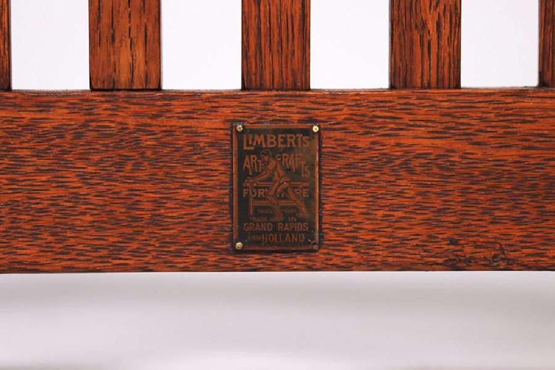 Set of 4 Limbert Spindled Chairs Yellowstone Lodge - 5