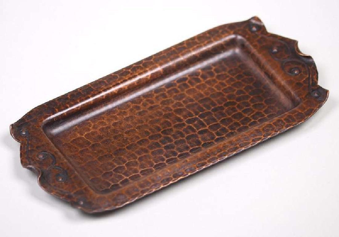Old Mission Kopper Kraft Tray c1922-1925 - 2
