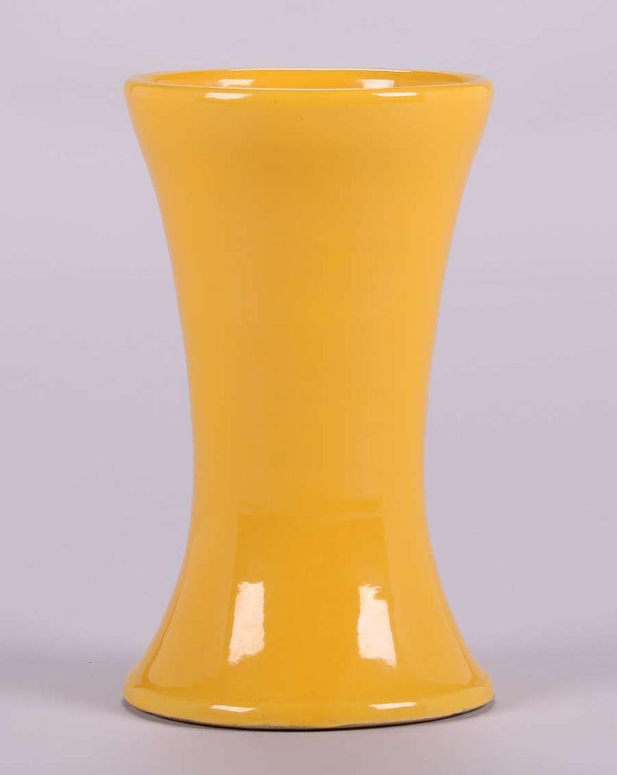 Bauer Matt Carlton Yellow Vase